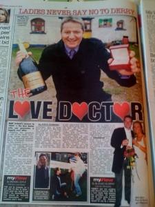 Article in The Sun newspaper